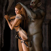 Fantasy forced sex action