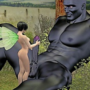 Beauties fucked by 3d monsters