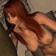 3D fantasy blow jobs by hot babes