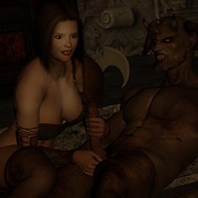 Fucked elves and fantasy girls with nice ass