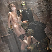 Dirty and sexy bitch Lara Croft fucked